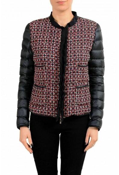 "Moncler Women's FABIENNE"" Multi-Color Full Zip Down Parka Jacket"