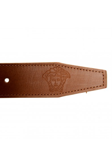 Versace 100% Leather Brown Men's Double Wrap Belt: Picture 2