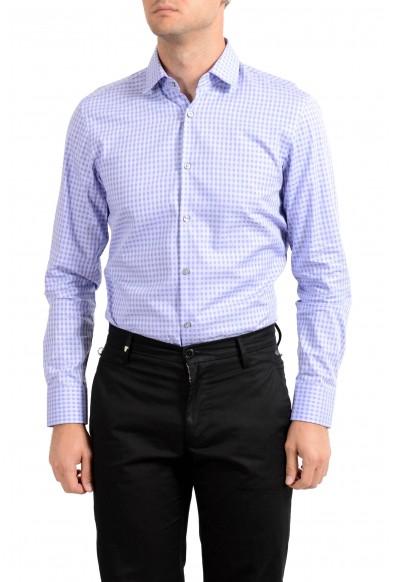 "Hugo Boss Men's ""Marley US"" Sharp Plaid Long Sleeve Dress Shirt: Picture 2"