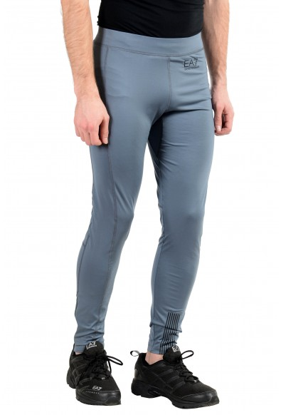 "Emporio Armani EA7 ""Tech"" Men's Gray Stretch Bicycle Leggings Pants: Picture 2"