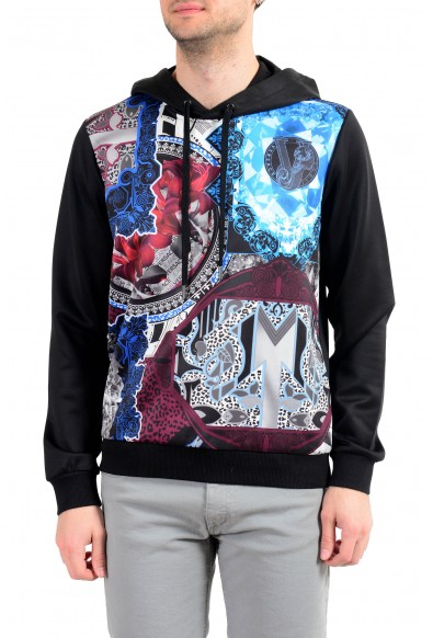 Versace Jeans Men's Multi-Color Hooded Sweatshirt Sweater
