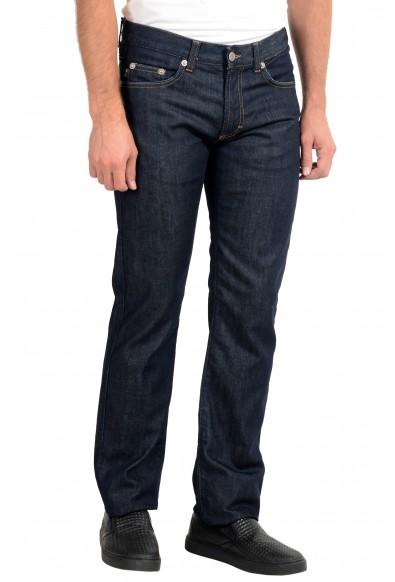 Just Cavalli Men's Blue Straight Leg Jeans: Picture 2