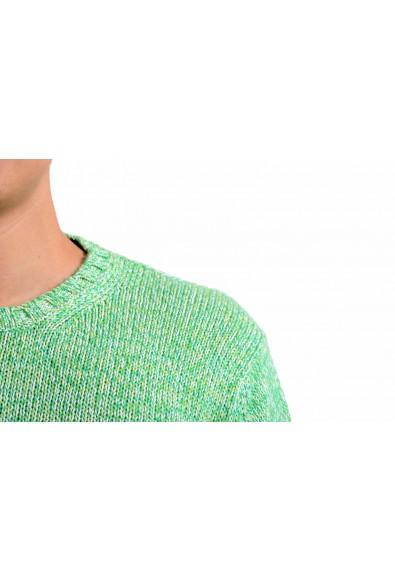 Malo Men's Greenish Cashmere Crewneck Pullover Sweater: Picture 2