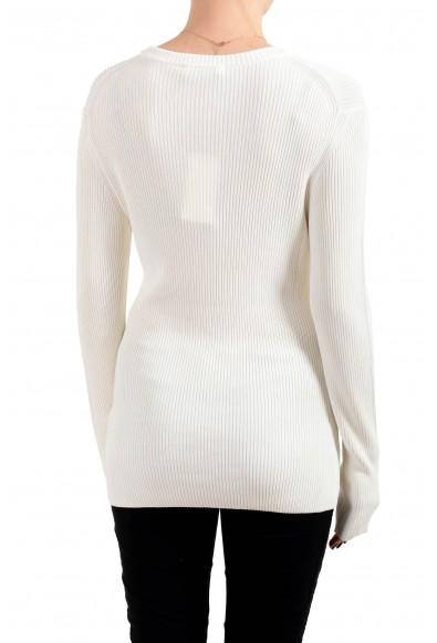 """Hugo Boss Women's """"Febecca"""" Off White Crewneck Pullover Sweater : Picture 2"""
