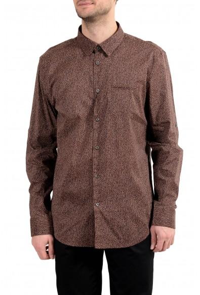 John Varvatos Multi-Color Long Sleeve Men's Casual Shirt