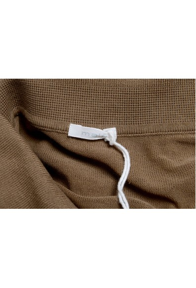 Malo Tortilla Brown Long Sleeve Men's Light Polo Sweater: Picture 2