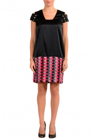 Just Cavalli Women's Multi-Color Silk Shift Dress