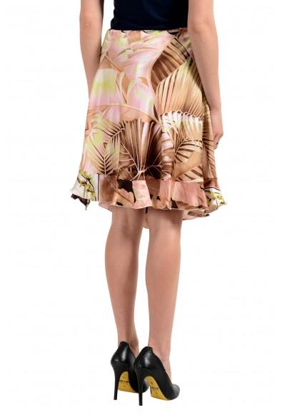 Roberto Cavalli Women's Multi-Color 100% Silk A-Line Skirt: Picture 2