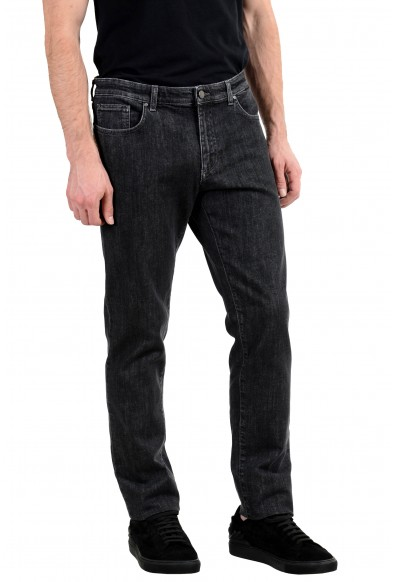 Versace Collection Men's Dark Gray Stretch Classic Jeans: Picture 2