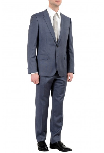 """Hugo Boss """"Henry/Griffin182"""" Men's 100% Wool Slim Gray Two Button Suit: Picture 2"""