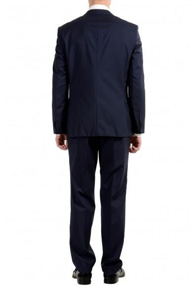 "Hugo Boss ""Jets4/Lenon1"" Men's 100% Wool Blue Two Button Suit: Picture 2"
