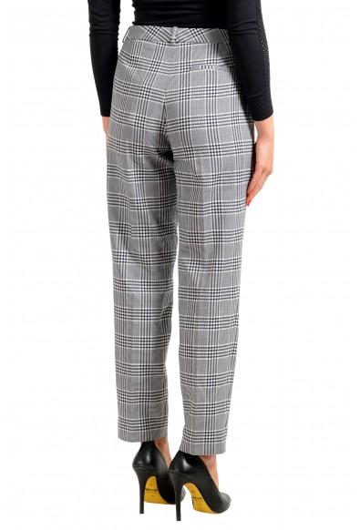 """Hugo Boss Women's """"Tiluna"""" Plaid Flat Front Dress Pants: Picture 2"""