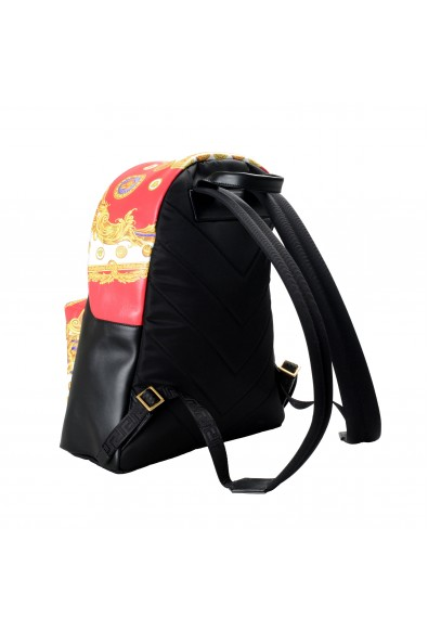 Versace Unisex Multi-Color Leather Backpack Bag: Picture 2