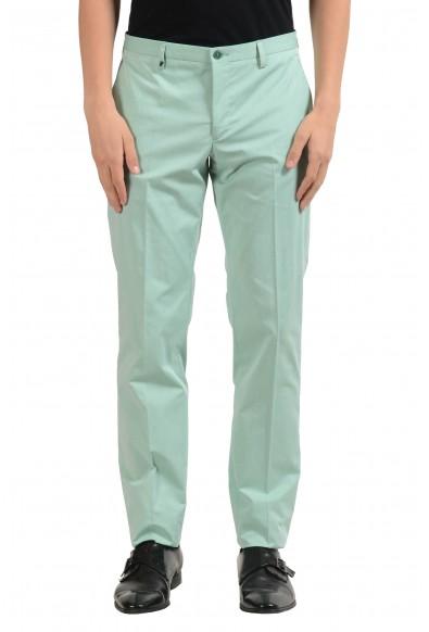 Versace Collection Men's Turquoise Dress Pants