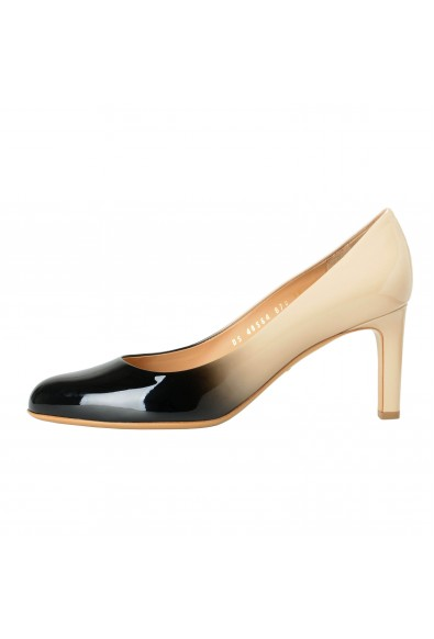"Salvatore Ferragamo Women's ""LEO"" Leather High Heel Pumps Shoes: Picture 2"