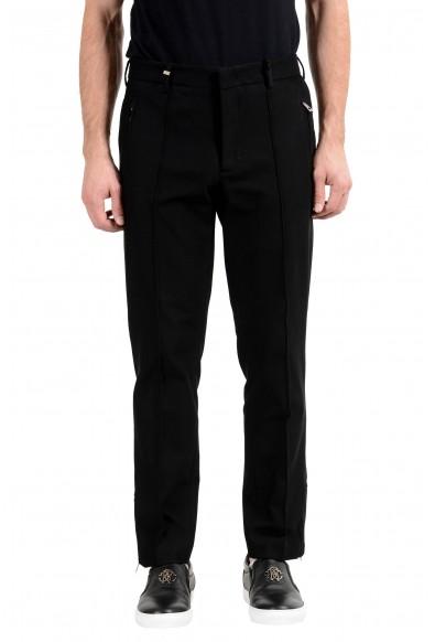 Versace Collection Men's Black Casual Pants