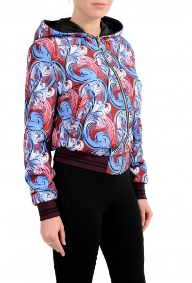 Versace Women's Reversible Full Zip Hooded Windbreaker Jacket: Picture 2