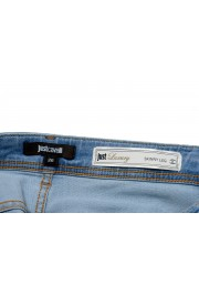 """Just Cavalli """"Luxury"""" Blue Women's Skinny Legs Distressed Jeans  : Picture 4"""