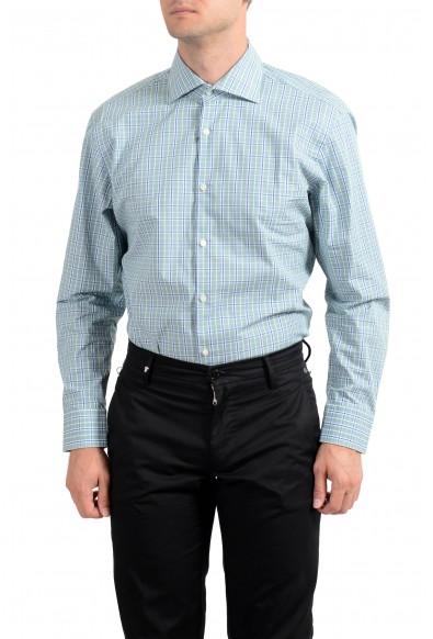 "Hugo Boss Men's ""Miles US"" Sharp Fit Plaid Long Sleeve Dress Shirt: Picture 2"