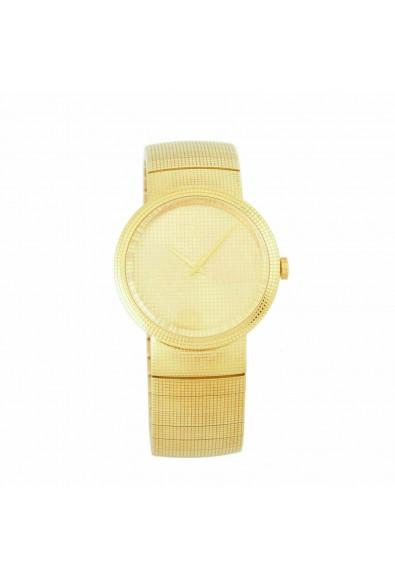 Christian Dior La D De Dior Solid Swiss Yellow Gold Watch