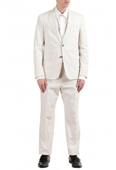 """Hugo Boss """"Nylen1/Pery1"""" Men's Off White Slim Two Button Suit: Picture 2"""