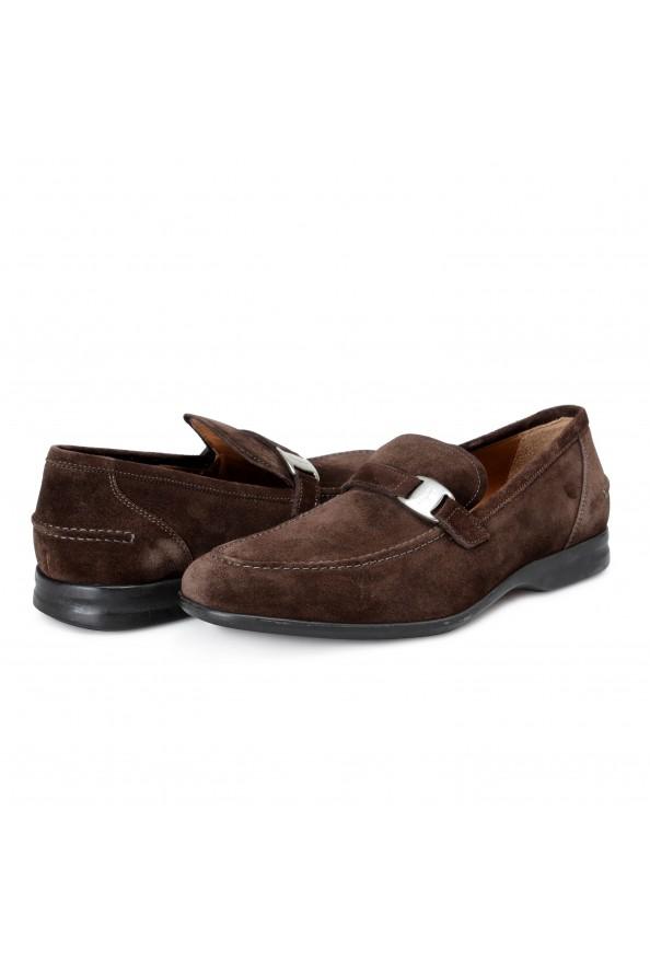 "Salvatore Ferragamo Men's ""Tangeri 2"" Brown Suede Leather Slip On Loafers Shoes: Picture 6"