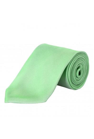 Versace Men's ICRSTK1 100% Silk Green Tie