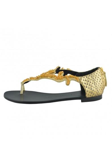 Giuseppe Zanotti Design Women's One Toe Flat Sandal Shoes Size: Picture 2