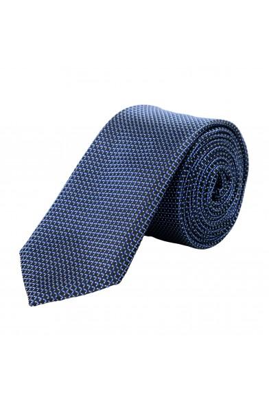 Hugo Boss Men's Geometric Print 100% Silk Tie