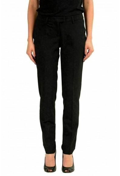 Moncler Women's Wool Black Dress Pants