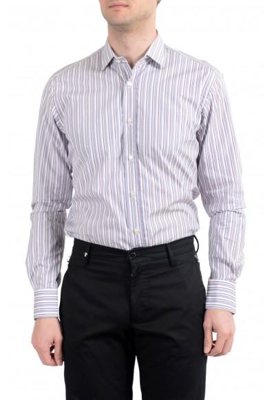 Etro Men's Multi-Color Striped Long Sleeve Dress Shirt: Picture 2
