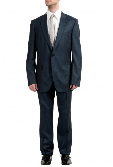 "Hugo Boss ""T-Harvers1/Glover1"" Men's 100% Wool Two Button Suit"