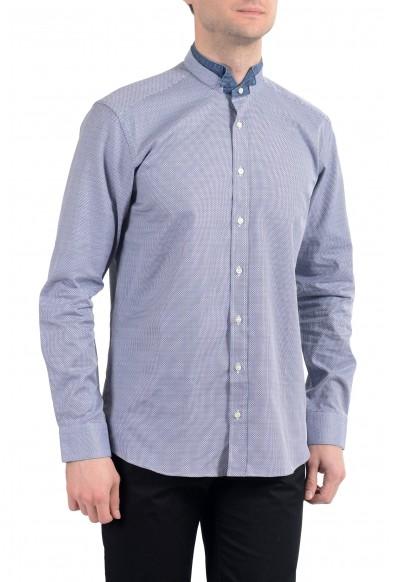 Etro Men's Blue Long Sleeve Dress Shirt