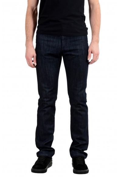 """Versace Collection """"Trend"""" Dark Wash Men's Straight Leg Jeans"""
