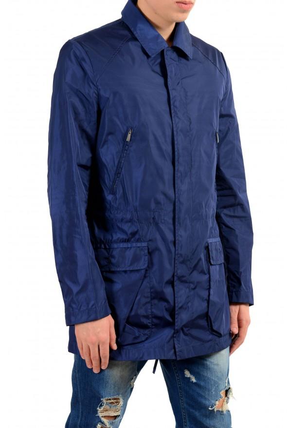 Malo Navy Full Zip Men's Windbreaker Jacket : Picture 2