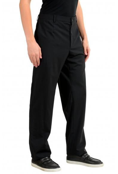 Dolce & Gabbana Men's Black Wool Dress Pants: Picture 2