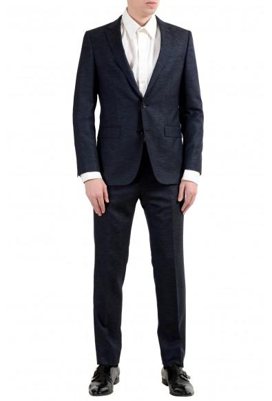 """Hugo Boss """"Novan5/Ben2"""" Men's Wool Slim Dark Blue Two Button Suit"""