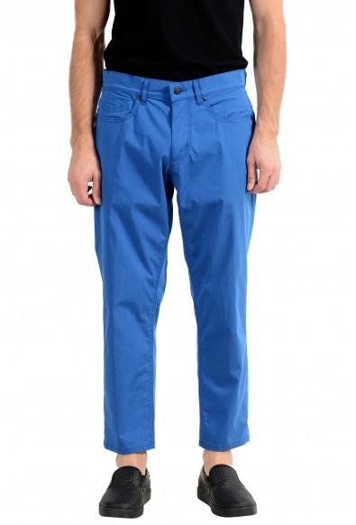 "Hugo Boss ""Hugo334/2"" Men's Relaxed Fit Blue Casual Pants"