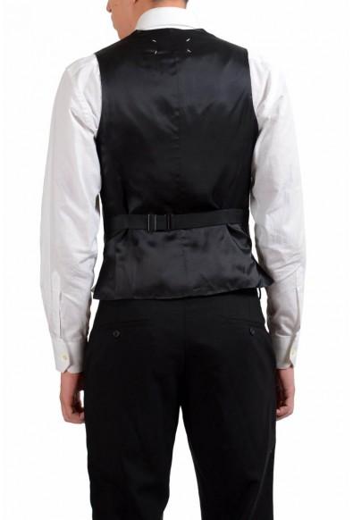 Maison Martin Margiela Men's Striped Button Up Vest: Picture 2