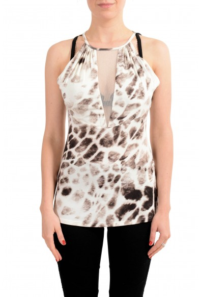 Just Cavalli Women's Multi-Color Sleeveless Top