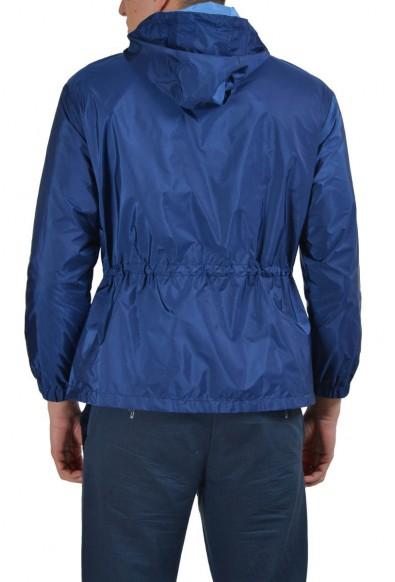 Prada Blue Full Zip Men's Windbreaker Jacket : Picture 2