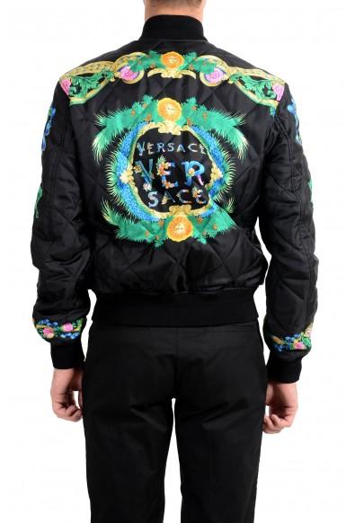 Versace Men's Multi-Color Silk Lightly Insulated Windbreaker Jacket : Picture 2