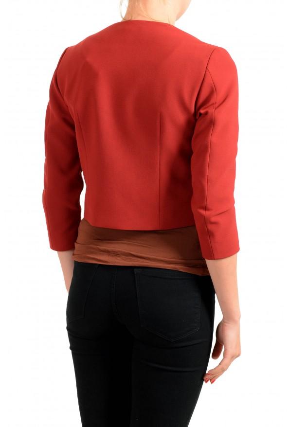 "Hugo Boss Women's ""Jikiva"" Bright Red Buttonless Blazer  : Picture 2"