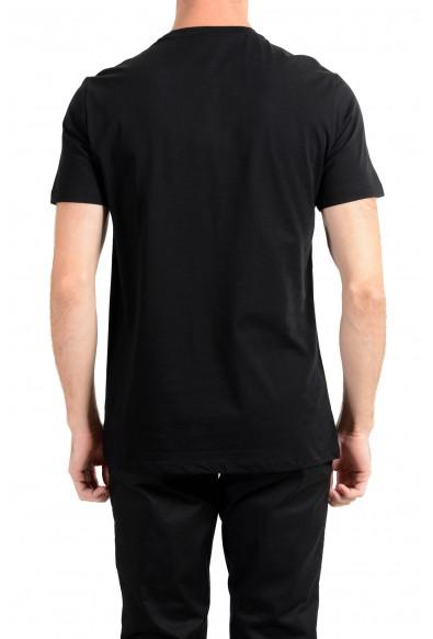 Versace Collection Men's Black Graphic Crewneck T-Shirt: Picture 2