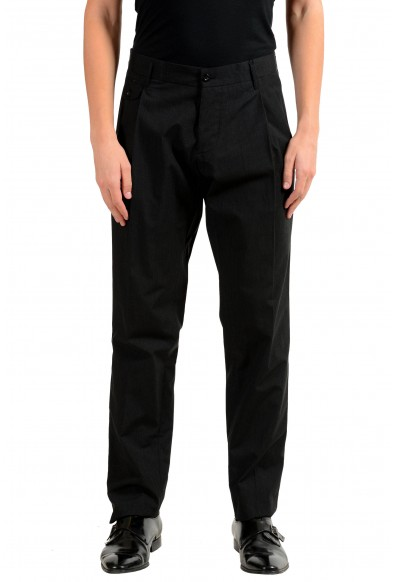 Dolce & Gabbana Men's Striped Pleated Dress Pants