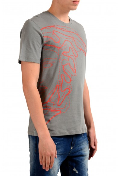 Versace Collection Men's Gray Graphic Print T-Shirt : Picture 2