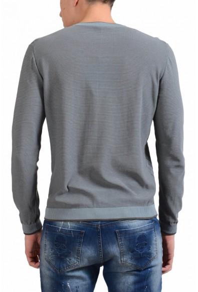 Malo Men's V-Neck Light Jacquard Sweater: Picture 2