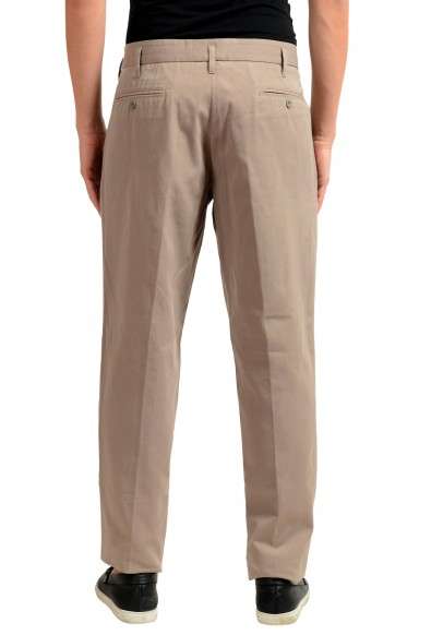 Dolce & Gabbana Men's Beige Pleated Casual Pants : Picture 2