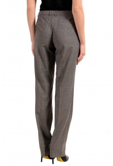 "Hugo Boss ""Titana6"" Women's 100% Wool Gray Casual Pants: Picture 2"