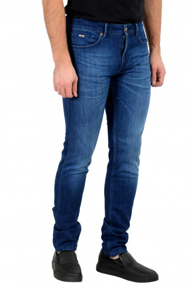 """Hugo Boss Men's """"Charleston4"""" Extra Slim Fit Blue Wash Stretch Jeans: Picture 2"""